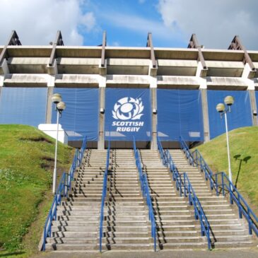 Murrayfield, Edinburgh, Schotland